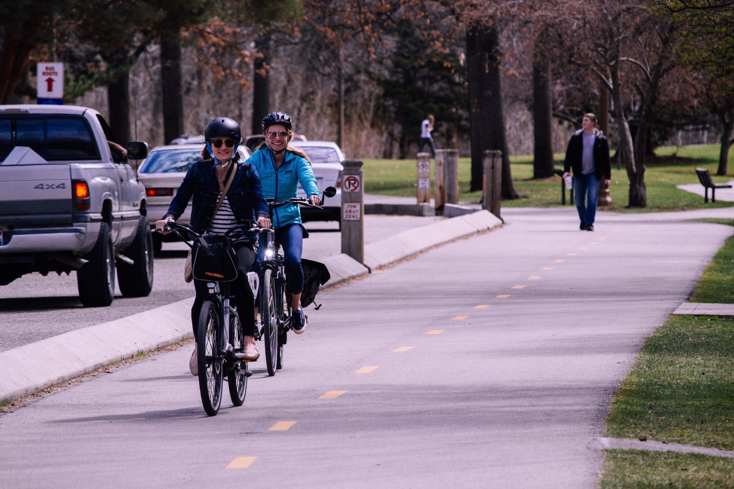 Sì, viaggiare – ma pedalando!